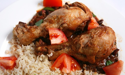 Jamaican Food for Dinner or During Lunch Buffet at Jamaica Gates Caribbean Cuisine (50% Off)