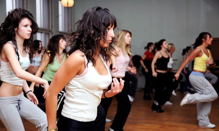 10 or 20 Cardio Hip Hop, Bodywerk Dance Fitness, or Zumba Classes at In the Groove Studios (Up to 66% Off)