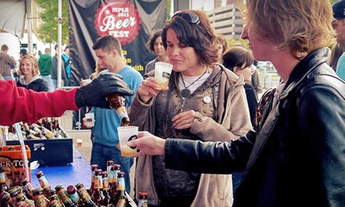 Twin Cities Beer Fest - South Loop: Beer Tastings with VIP Option at Twin Cities Beer Fest at the Mall of America on Saturday, August 11 (Up to 51% Off)