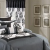 Bedroom Coordinating Comforter Sets with Sheets and Window Decor Included (24- or 25-Piece)