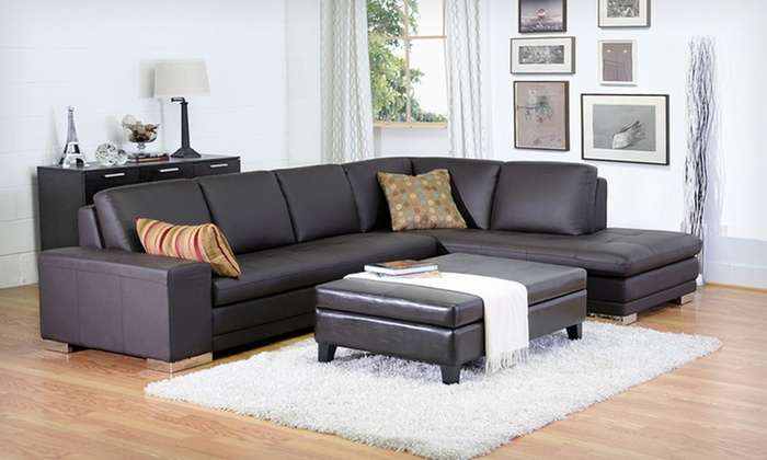 Leather Storage and Bench Ottomans: Leather Storage and Bench Ottomans (Up to 63% Off). Six Options Available. Free Shipping and Free Returns.
