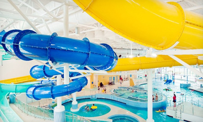 H2O Adventure + Fitness Centre - North Mission - Crawford: Indoor-Waterpark Outing for Three People or Family at H2O Adventure + Fitness Centre (Up to 56% Off)