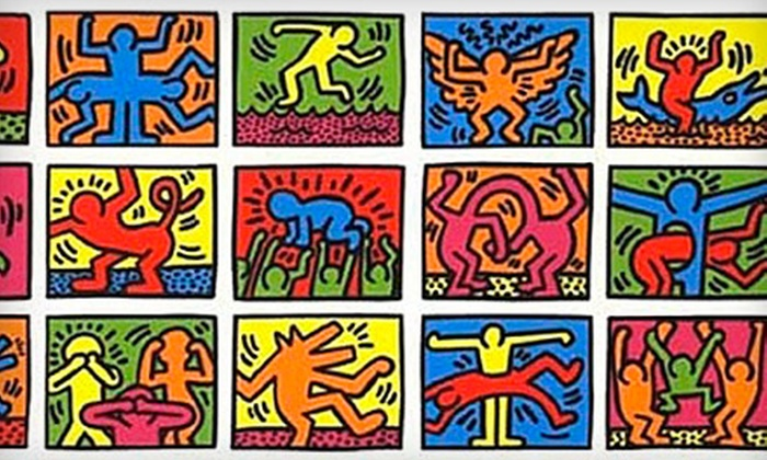 "Haring Miami - Little Haiti: One-Day Access or VIP Opening-Night Party and Multiday Access to ""Haring Miami"" at the Moore Building (Up to 60% Off)"