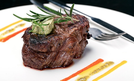 Four-Course Prix Fixe Dinner for Two or Four at The Vintage Steakhouse (Up to 49% Off)