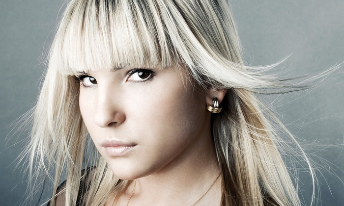 Hi-Tech Hair - Weston: Haircut and Style with Optional Partial Highlights at Hi-Tech Hair (Up to 63% Off)