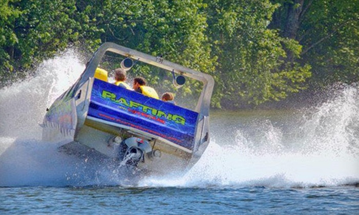 Wahoo Adrenaline Park - Sevierville: Unlimited Sky-Bridge Access and Optional Boat Rides for Two at Wahoo Adrenaline Park in Kodak (Up to 59% Off)