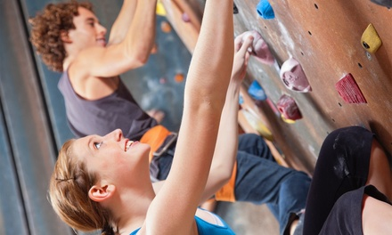 Kletter-Anfängerkurs für Zwei inkl. Monatsmitgliedschaft mit Fitness und Sauna im Big Wall Klettercentrum (55% sparen*)