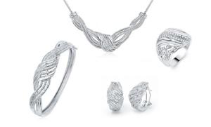 2.00 Cttw Diamond 4-piece Jewelry Set