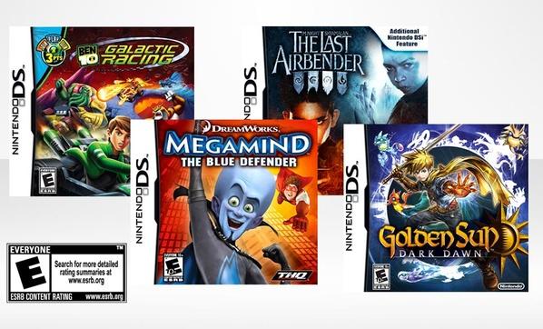 Nintendo DS Kids Game Bundle