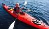 Moss Bay Row, Kayak, Sail & Paddle Board Center - Moss Bay Kayak, Paddle Board & Sail Center: Paddleboard, Single or Double Kayak Rental from Moss Bay Row, Kayak, Sail & Paddle Board Center (46% Off)