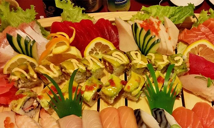 Kikusushi - Kiku Sushi: Sushi at Kikusushi (Up to 39% Off). Two Options Available.