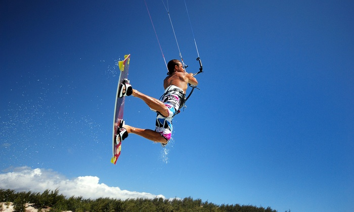 Skybanditz - Miami: One-Hour On-Land Intro to Kite-Boarding Lesson or Two-Hour Intermediate Lesson at Skybanditz (Up to 60% Off)