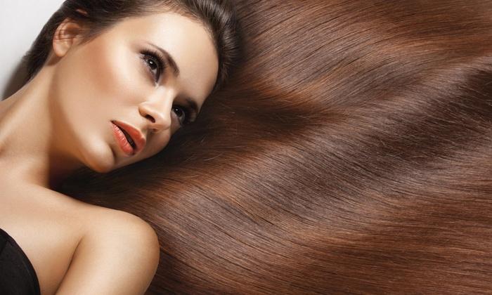 Jor Salon - Oakland Park: Keratin Straightening Treatment from Angel Torres Salon (55% Off)