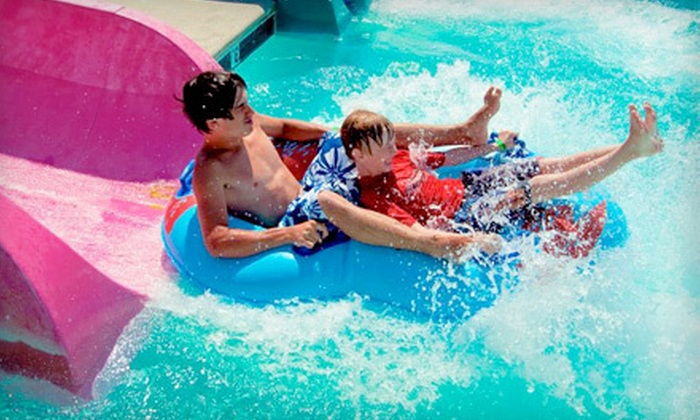 Splash Zone - Wildwood: All-Day Water-Park Visit for One or Four at Splash Zone (Up to 54% Off)