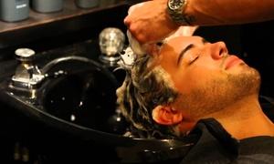 Marquis De'Von Men's Grooming Studio: Men's Grooming Packages at Marquis De'Von Men's Grooming Studio (Up to 56% Off). Three Options Available.