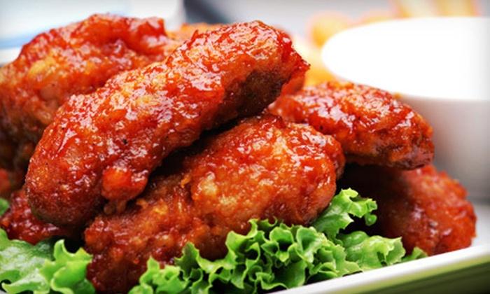 Flamin' Joe's - South Hill: $10 for $20 Worth of Wings and Bar Food at Flamin' Joe's