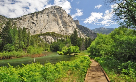 1-Night Stay for Two with Daily Breakfast at John Muir Lodge in Kings Canyon National Park.