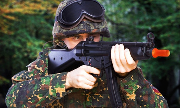 The Paintball Park - Camp Pendleton: Airsoft Outing at The Paintball Park (Up to 60% Off). Three Options Available.