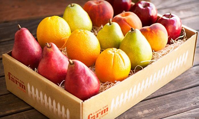 FromTheFarm.com: One or Three Months of Delivered Organic Seasonal Produce with Free Shipping from FromTheFarm.com (Up to 53% Off)