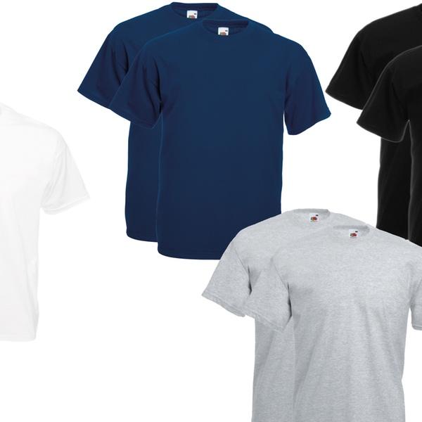 para Of Pack camisetas hombre Fruit The 10 Loom de TlPkwiOXuZ