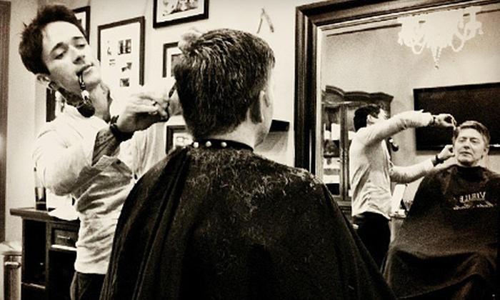 Virile Barber & Shop - Riverside: $29 for a Men's Haircut and Shave at Virile Barber & Shop in Waldwick ($65 Value)