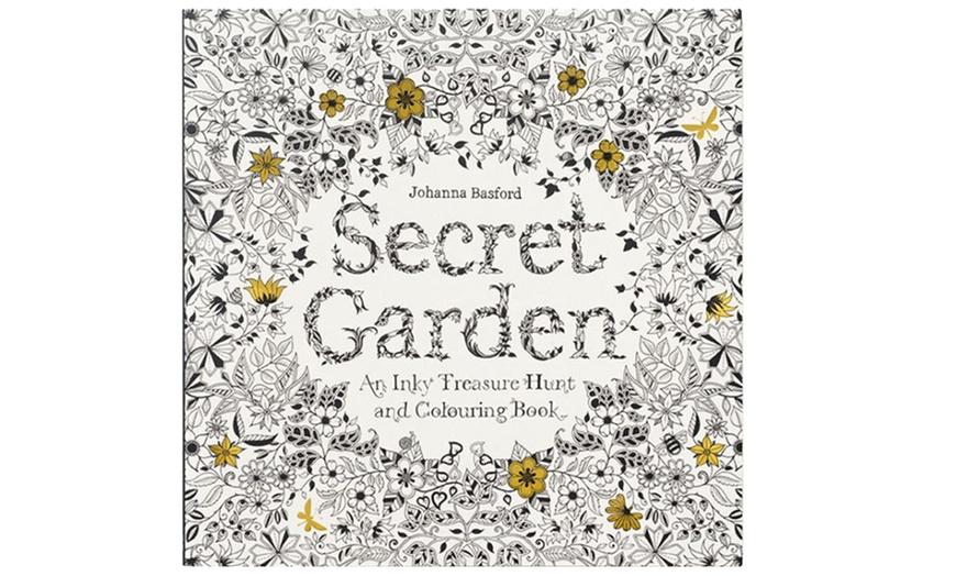 Secret Garden Adult Coloring Book Groupon