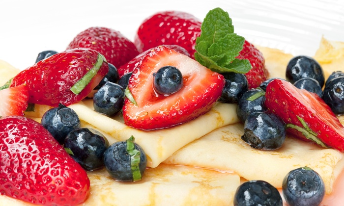 Crepe Cafe - Deerfield Beach: Sweet, Savory, and Breakfast Crepes at Crepe Cafe (Up to 50% Off). Two Options Available.