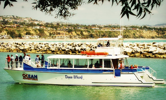 OCean Adventures - Dana Point: $47 for a Wine Tasting and Harbor Cruise for Two from OCean Adventures ($98 Value)