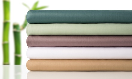 100% Natural Bamboo Fiber Sheet Set (4-Piece)