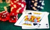 Party Time Corp.: $150 for Two Blackjack or Texas Hold 'Em Tables with Dealers and Three-Hour Party from Party Time Corp (a $330 Value)