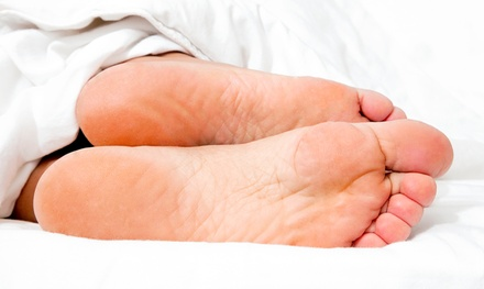 Two Laser Toenail-Fungus-Removal Treatments for One or Both Feet at Palm Desert Podiatry Center (Up to 67% Off)