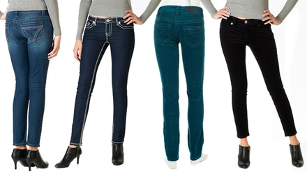 Seven7 Women's Jeans. Multiple Styles Available. Free Returns.