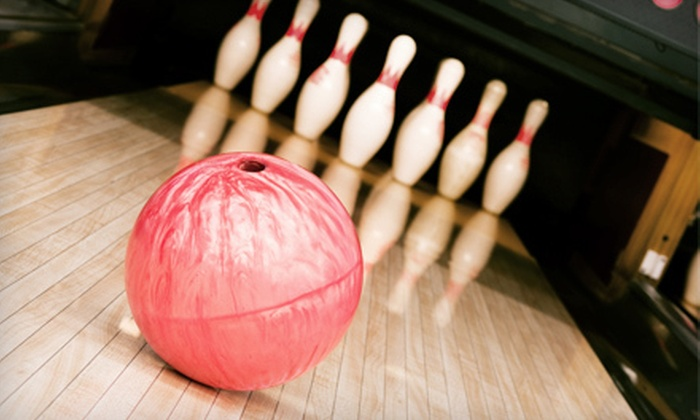 North Woods Lanes - Boston Heights: Two Hours of Bowling and Shoe Rental for Up to Five with Optional Food Voucher at North Woods Lanes (Up to 63% Off)