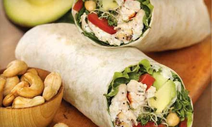 Roly Poly - Multiple Locations: $5 for $10 Worth of Rolled Tortilla Sandwiches at Roly Poly