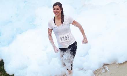 One, Two, or Four Groupons, Each Good for Race Entry to the ColorFoam5k on Saturday, June 28 (Up to 52% Off)