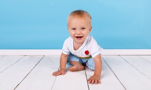 Too Cute Photography: $59 for a Child Photo Session in Studio with Framed Print at Too Cute Photography ($300 Value)