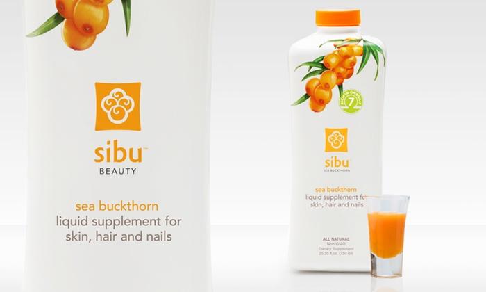 Sibu Beauty Sea Buckthorn Liquid Dietary Supplement: Sibu Beauty Sea Buckthorn Liquid Dietary Supplement 23.35 Fl. Oz.