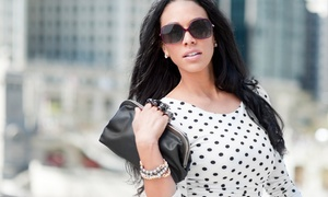 Soleil by Erker's: Regular or Prescription Sunglasses at Soleil by Erker's (Up to 80% Off). Two Options Available.