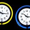 14'' Double Ring Neon Clock