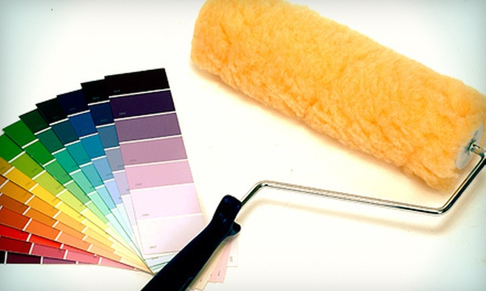 Crossfire Painting - Nashville: Painting for One or Two Rooms from Crossfire Painting (Up to 77% Off)