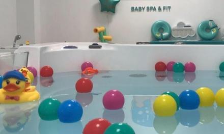 Spa para bebés con sesión de hidroterapia y masaje por 34,95 € en Glub Glub Baby Spa&Fit