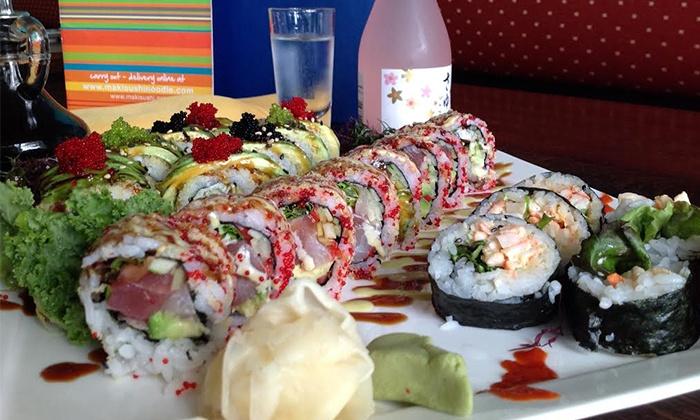 Maki Sushi & Noodle Shop - Park Ridge: Sushi and More for Dinner at Maki Sushi & Noodle Shop (Up to 50% Off). Two Options Available.