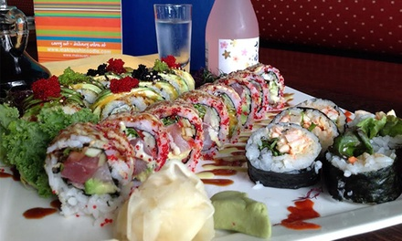Sushi and More for Dinner at Maki Sushi & Noodle Shop (Up to 50% Off). Two Options Available.