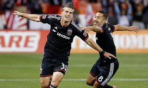 D.C. United: D.C. United CONCACAF Champions League Soccer Match on September 15 at 8 p.m. or MLS Match on September 19 at 7 p.m.