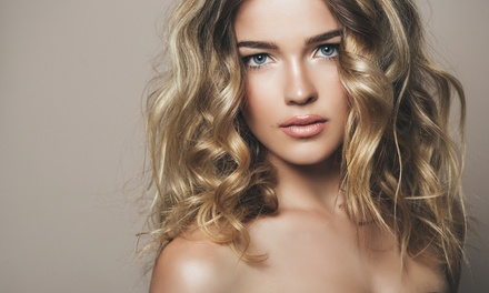 Haircut Package and Optional Full or Partial Highlights from Amanda Baughman at Serenity Salon and Spa (Up to 57% Off)