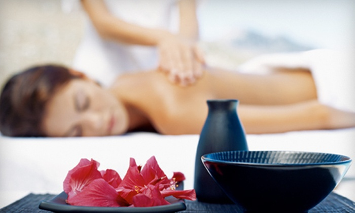 Mancini de Paris - Arlington: Spa Package for One or Two with Anti-Aging Facial, Body Polish, and Mani-Pedi at Mancini de Paris (Up to 62% Off)