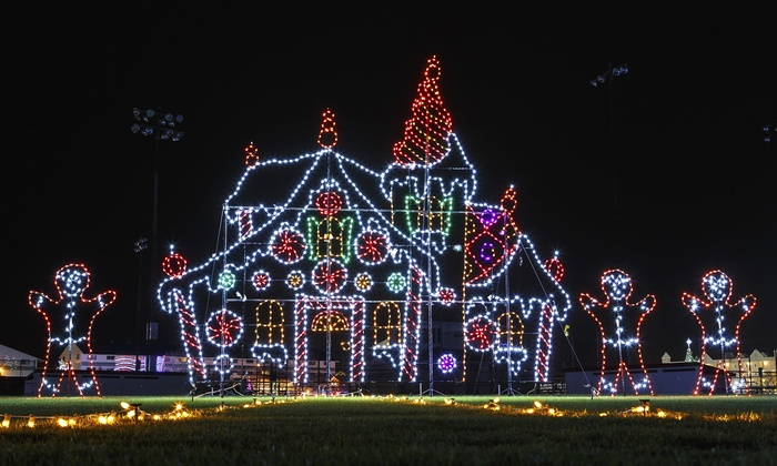 holiday lights attraction symphony of lights groupon