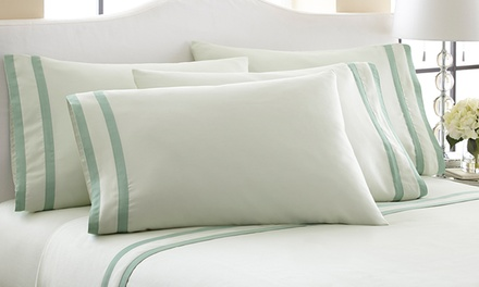 Fine Linens 1,000-Thread-Count Egyptian Cotton-Rich 6-Piece Sheet Sets
