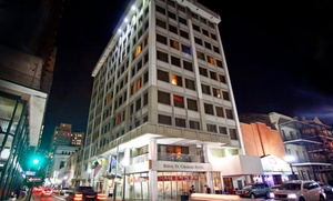 Modern Hotel One Block from the French Quarter at Royal St. Charles Hotel, plus 6.0% Cash Back from Ebates.