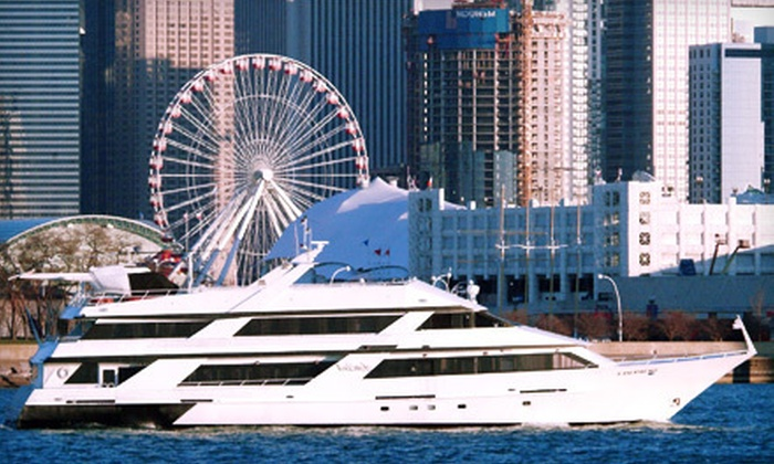 Anita Dee Yacht Charters - Near North Side: Football Tailgating Cruise for Two, Four, or Eight from Anita Dee Yacht Charters (Half Off)